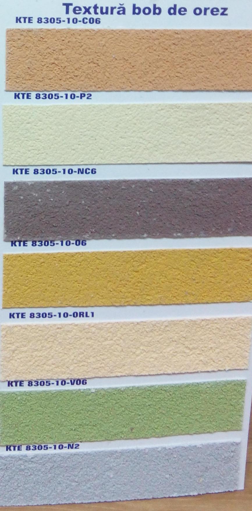Paleta De Culori Tencuiala Decorativa.Kober Vopsele Tencuiala Cu Fibra De Carbon Scoarta De Copac